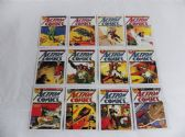 SUPERMAN 12 COMIC COVERS COLLECTOR CARDS